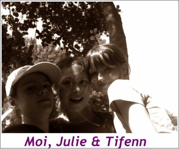 julie tifenn et moi ;)