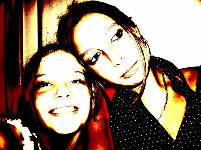 Moi et ma soeur que j'aime lool =)