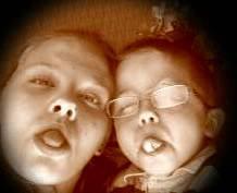 Moi et mon petit frere =)
