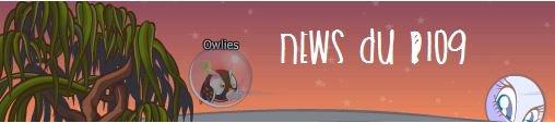 * News du blog ! *
