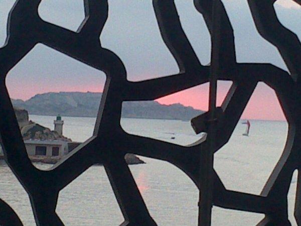 Coucher de soleil à Marseille