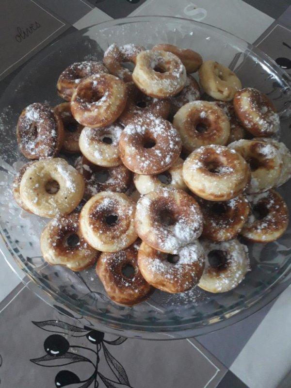 Mini donut fait maison