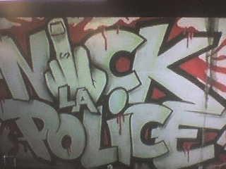 NIKE LA POLICE NIKE LA JUSTICE