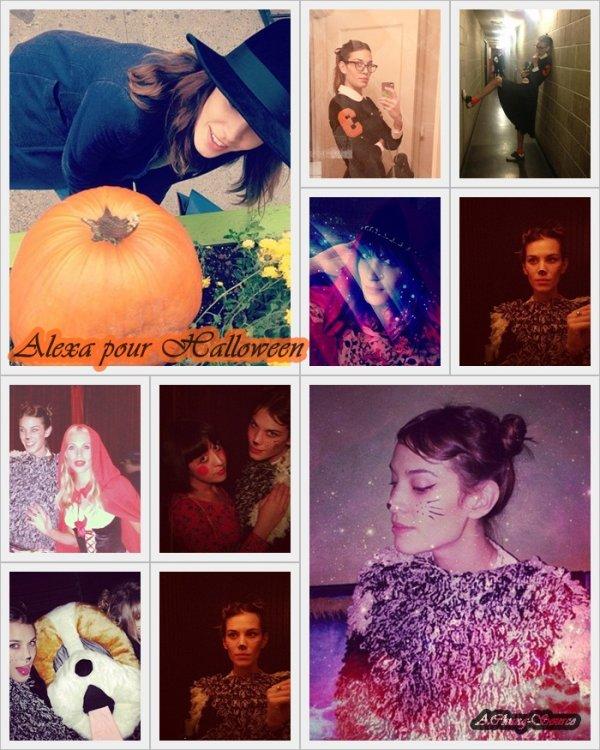 Fin Octobre ( et pour Halloween )