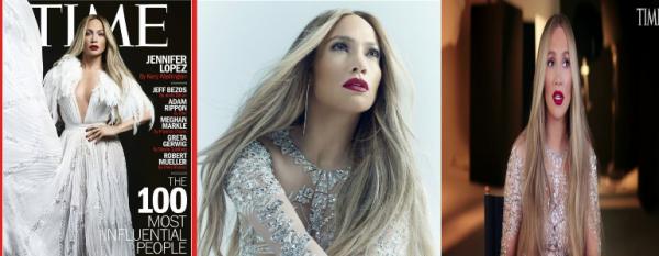 Nouveau photoshoot de Jennifer Lopez pour le magazine TIME.