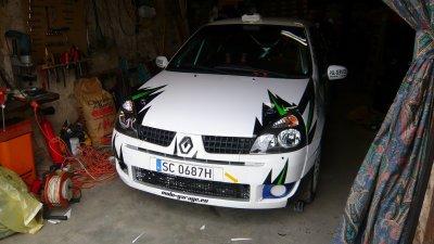 206 Vendue, Nouvelle CLIO RS 2 GrN