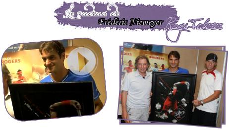 """haha  En ce 08 Août 2011 Roger Federer, fête ses 30 ans. Joyeux anniversaire à Roger !                             Il y a 30 ans, un petit jeune garçon du nom de Roger Federer est né pour accomplir de grande chose. Chose réussi pour Roger, qui est toujours au top. Il est connu sous le nom du """"Roi du tennis"""" ou """"L'homme au 16 grands Chelems"""". On peut dire qu'il est au sommet de la gloire. Joyeux anniversaire à Roger, un joueur, généreux qui nous transmet tant de chose, et nous fait toujours rêver.     haha  Encore une fois, joyeux anniversaire à Roger !  haha"""
