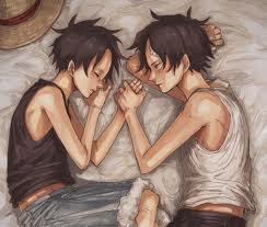 Ace et Luffy, la séparation de deux frères...