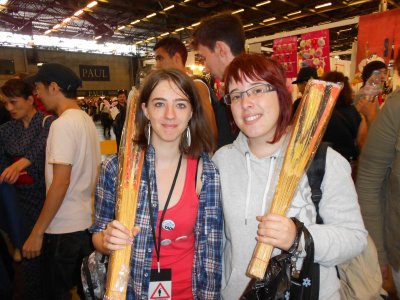 Japan expo 2012 Fin....les inoubliables et nous ♥