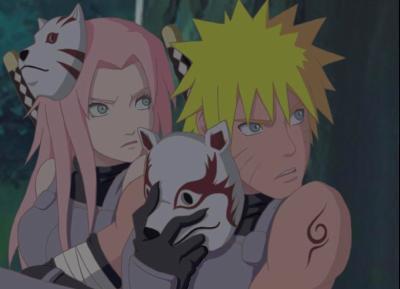 Naruto et Sakura Akippuden