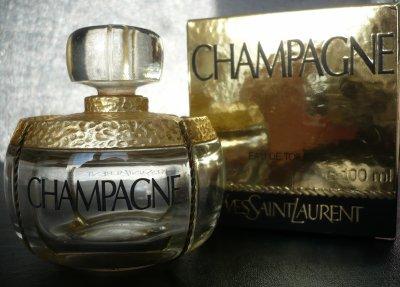Flacon Champagne