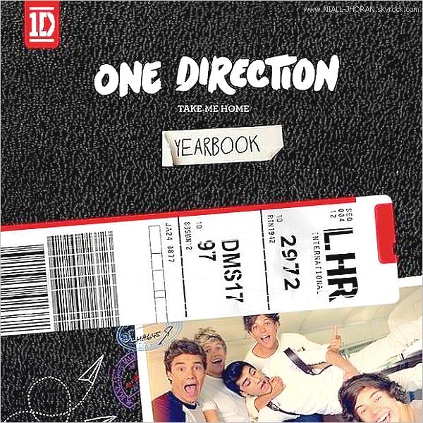 Pochette du single ''Live While We're Young'' + la pochette deluxe du nouvel album des garçons. On en sait un peu plus sur ce nouvel album car Louis en a dévoilé le nom via twitter. L'album s'appellera  ''Take me Home'' + Niall a atteint les 6 millions de followers sur twitter après Harry. Les garçons sont de plus en plus célèbres et les chiffres le prouvent. Quant à la page officielle des garçons sur facebook, elle a atteint les 9 millions de j'aime. -  Qu'en pensez-vous ? :-)