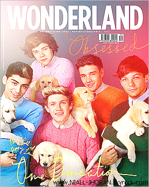 2012 : Les voici enfin les photos du shoot pour le magazine 'Wonderland' ! Je meurs, les photos sont magnifiques, j'adore la couverture. PARFAIT :D -  Qu'en pensez-vous ? :-)