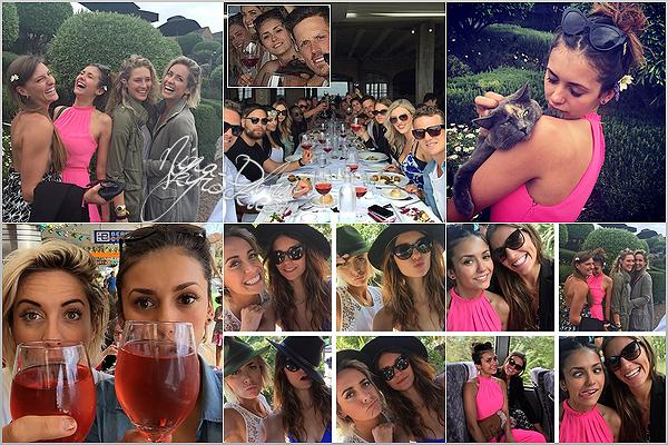 Découvrez des photos de Nina qu'elle a postées sur son Instagram, prenant du bon temps au ski avec sa famille.