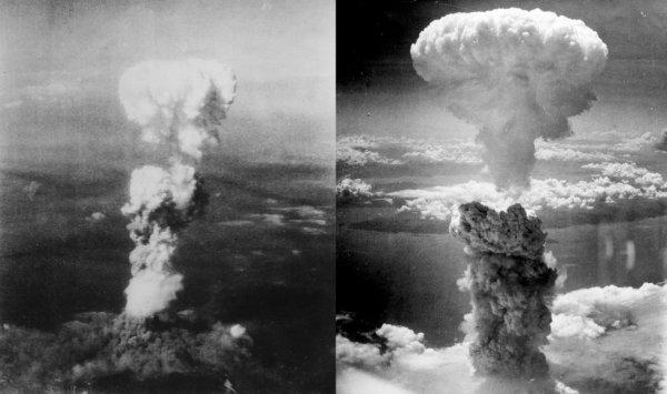 Bombardements nucléaires à Hiroshima et Nagasaki