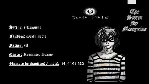 Yaoithon De Pâques J-2 : mini critique fanfiction Death Note