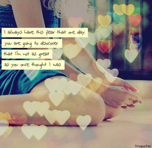 Je t'aime trop pour te le dire