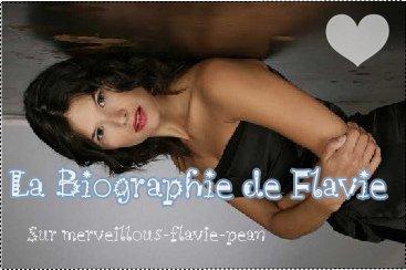 La Biographie De Flavie Péan