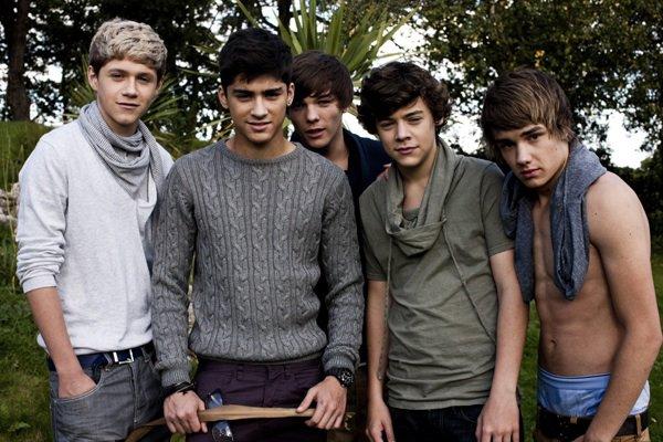 Toute une histoire les One Direction...