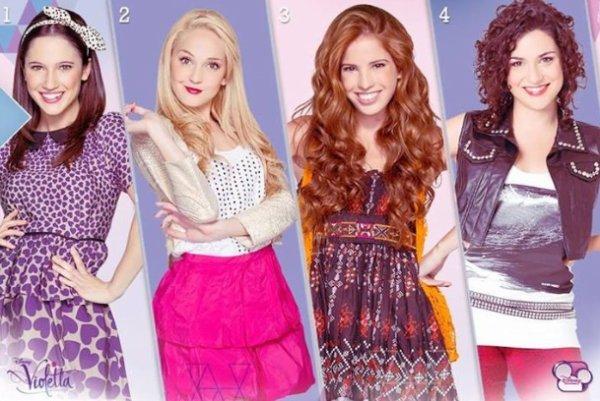 Si tu pouvais choisir, laquelle choisirais tu pour etre ta meilleure amie ? ♥️