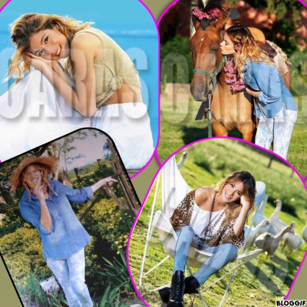 Tini pour le Magazine Caras + Nicolas qui enregistre une chanson pour Violetta 3 + News photos ! <3 =D