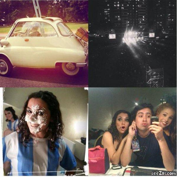 Photos de Tini au ViolettaEnVivo à LunaPark + Photo posté par Clari & l'anniv d'Alba + Ruggero, Samu & Nicolas au ViolettaEnVivo à LunaPark + Gif de la nouvelle vidéo de Tini posté sur Instagram ! ^^ <3