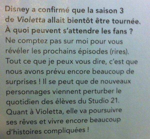 Infos saison 3 ! + Tini & Peter ! ♥️