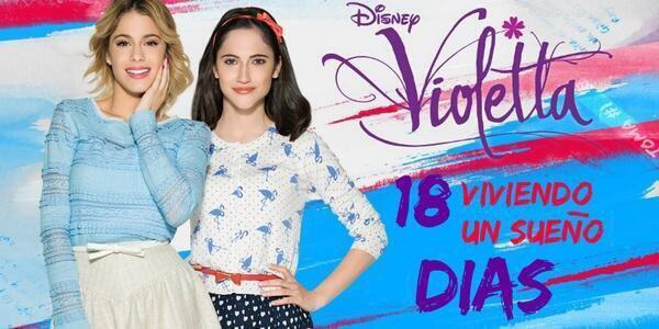 - 18 jours avant Violetta 3 ! Vous avez hâte ? ^-^