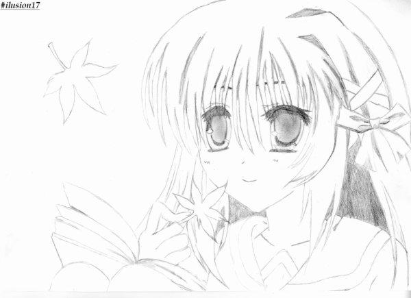 Fille manga Kawaii