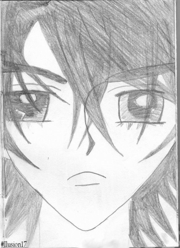 Dessin homme manga