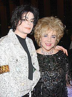 Elizabeth Taylor et michael jackson
