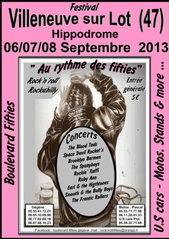 Villeneuve sur Lot 06/07/08 Septembre 2013.