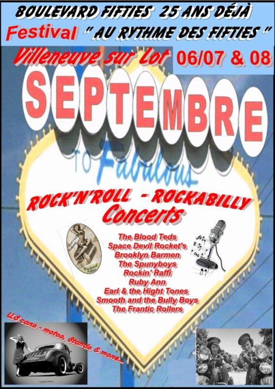 Le festival Rock'n'roll & Rockabilly organisé par de vrais passionnés.