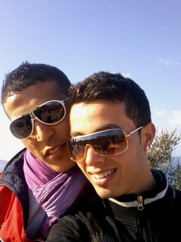 c est moi avec mon amie mahdi