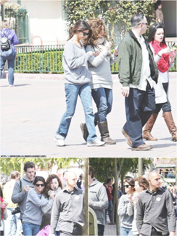 """RATTRAPGE DES NEWS PENDANT MES VANCANCES AU SKI .  5 avril 2011 - Selena à """"Dancing With The Stars""""  Photoshoot : Paper Magazine. 9 avril 2011 - Selena a passée du temps avec sa famille, ils se sont rendus à Disneyland en Californie."""