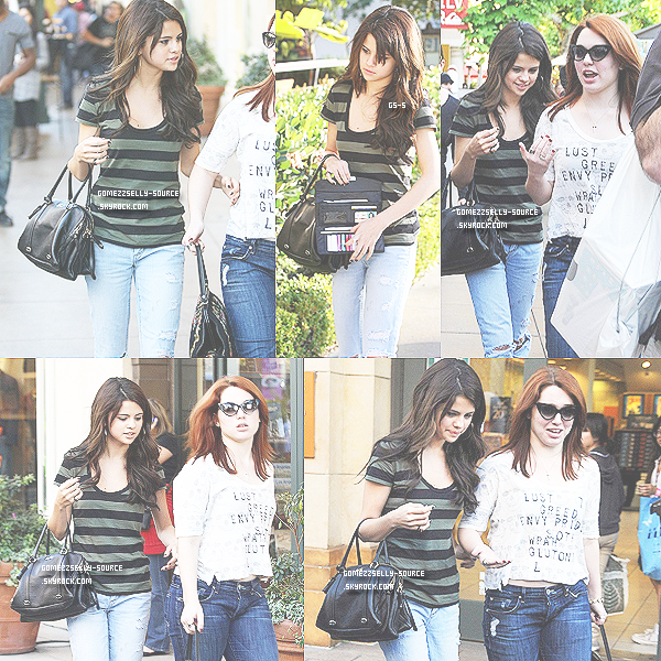 FLASH BACK 13 décembre 2010 - Selena et Jennifer Stone faisant du shopping au Grove.   Top ou Flop ?
