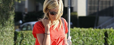 Ashley redevient Blonde=)