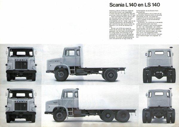 LE SCANIA DU SAMEDI LE L.140 V8