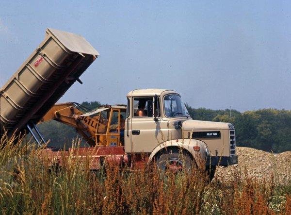 LE BERLIET DU DIMANCHE LE GLR 160 M4 5 CYLINDRES 162CV 18T PTC PAS TRES PUISSANT MAIS TRES SOLIDE