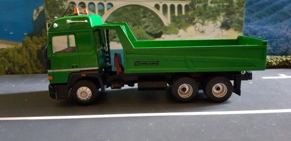 RENAULT R 390 V8 6X4 BENNE MARREL LA SUITE DE LA FLOTTE DE MON GRAND PÈRE TRANSFO SUR BASE ELIGOR
