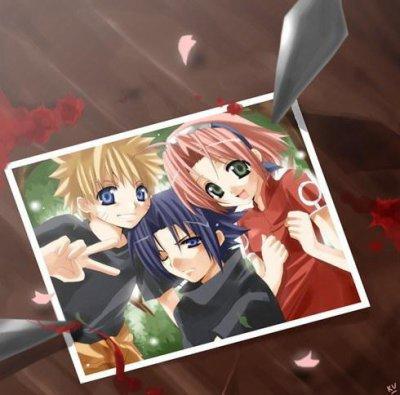 Les ami d'enfance de Naruto