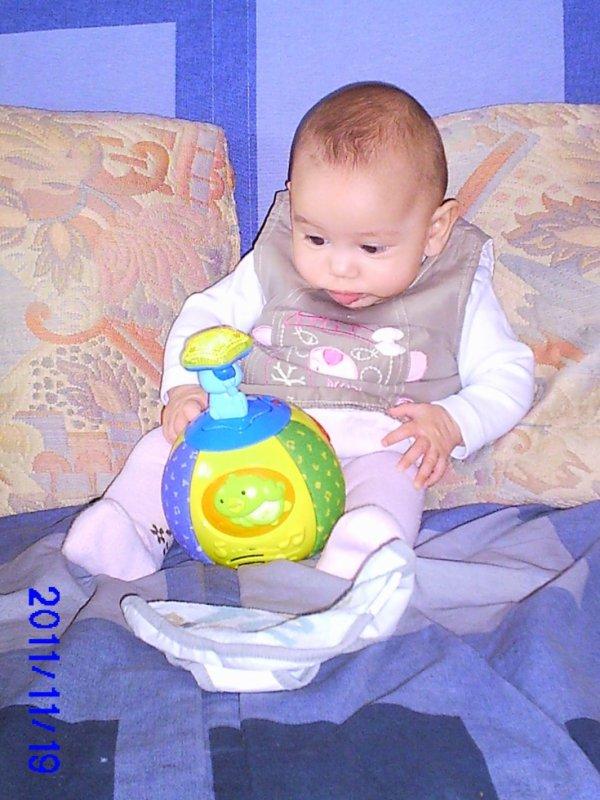ma 2ème petite fille 1an mancier lydie