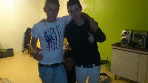 Les fréres et moi :)