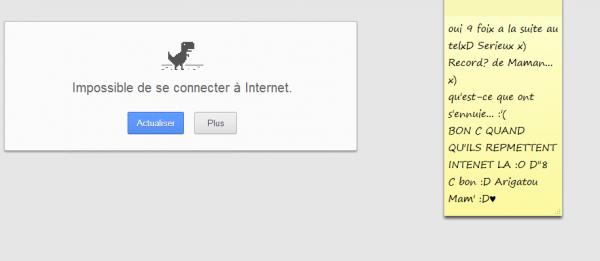 Internet de merde la D':< Soit + sérieux tu joue a vie x)