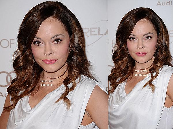 . 14 Janvier 2012 - Rose était au Art of Elysium Heaven Gala 2012 qui avait lieu à Los Angeles .