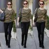 . 17 Janvier 2012 - Rose a été vu dans les rues de West Hollywood se rendant dans un salon de beauté .