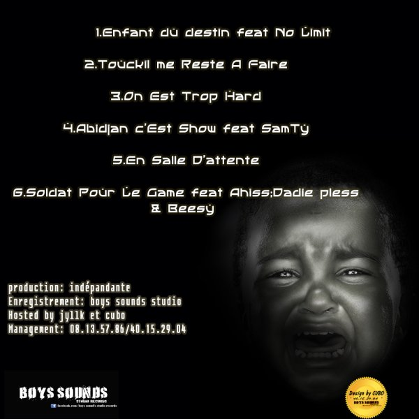ENFANT DU DESTIN_CUBO_(Maxi single / On Est Trop Hard (2012)