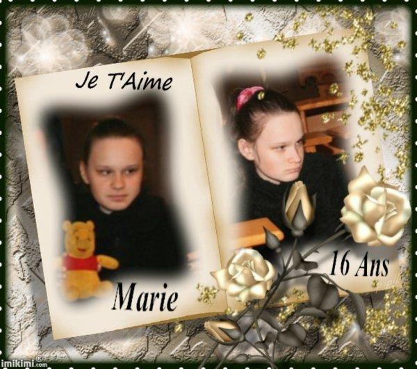 Bon Anniversaire Marie chérie