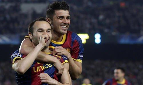 Barça: David Villa  est  de retour