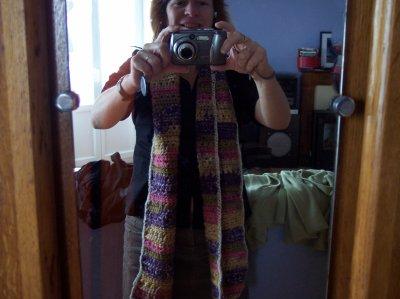 toujours la même écharpe !!!